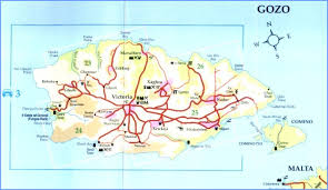Malta Map Detailed Street Road Map Malta Holidays by DHI